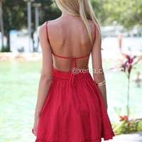 Lady Luck Dress (Red)