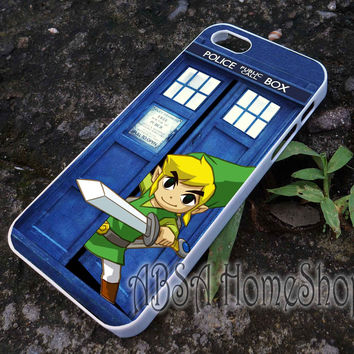 tardis zelda case for iPhone 4/4s/5/5s/5c/6/6+ case,iPod Touch 5th Case,Samsung Galaxy s3/s4/s5/s6Case, Sony Xperia Z3/4 case, LG G2/G3 case, HTC One M7/M8 case galaxy