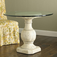 Baluster Base with Glass