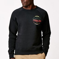Nike SB Trademark Crew Neck Sweatshirt - Mens Hoodie - Black
