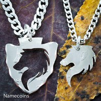 Wolves Jewelry, In Arrowhead, Inside and Outside Pieces