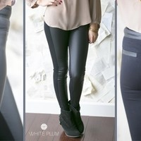 Slimming Faux Leather Jeggings!