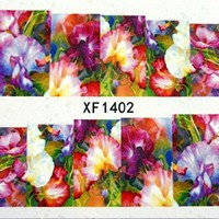*110* Flower Full Nail Water Decals