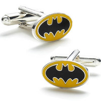 Classic Batman Logo Cufflinks by joescollections on Etsy