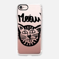 Meaw Cat Kitty iPhone 7 Case by Vasare Nar | Casetify