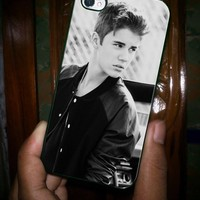 JUSTIN BEIBER COOL GRAYSCALE - iPhone 5 Case, iPhone 4/4s Case, Hard Case OCM