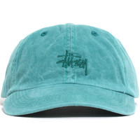 Smooth Stock Enzyme Wash Unstructured Hat Teal