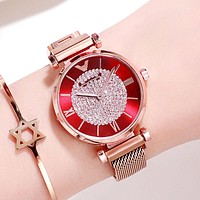 Fashion Accessories and Jewelry Luxury Diamond Rose Gold Ladies Wrist Watches