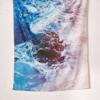 Leah Flores For DENY Waves Tapestry | Urban Outfitters