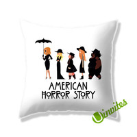 American Horror Story Coven Square Pillow Cover