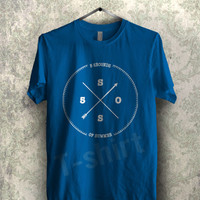 circle logo 5sos tee - 1NNY Unisex T- Shirt For Man And Woman / T-Shirt / Custom T-Shirt / Tee