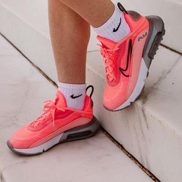 Bunchsun Nike Air Max 2090 New Women Fashionable Sport Running Shoes Sneakers Pink