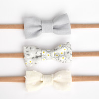 Daisy Bow Set