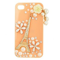 Eiffel Tower Blossom Phone Case: Charlotte Russe