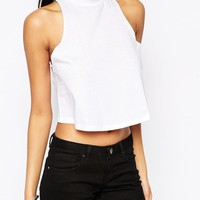 ASOS Swing Vest with High Neck
