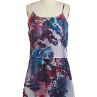 Mid-length Sleeveless A-line In the Mojito of the Moment Dress