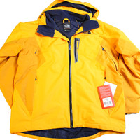 The North Face Realization Summit Serie Men's Taxi Yellow/Navy Blue Snow Hiking Jacket
