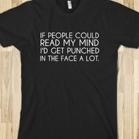 IF PEOPLE COULD READ MY MIND - glamfoxx.com