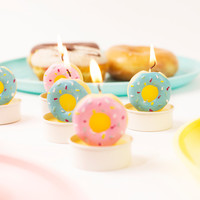 Donut Tea Lights | FIREBOX