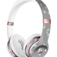 Gray Jester hat with Balloons Full-Body Skin Kit for the Beats by Dre Solo 3 Wireless Headphones