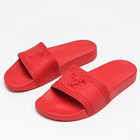 Versace summer men's and women's slippers shoes