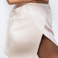 Mac Suede Skirt - Bottoms by Sabo Skirt