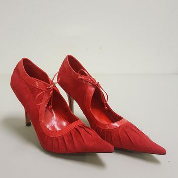 CHRISTINE & KELLY PARIS POINTED TOE HEELS (SAMPLE)