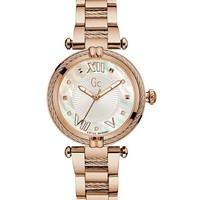 Gc Rose Gold-Tone Classic Watch at Guess