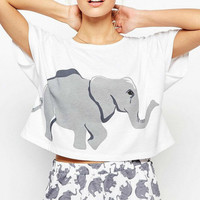 3D Mall New Fashion Summer Women T Shirts Elephant 3D Print Casual Shirt Thin Short Sleeve Tops Tee