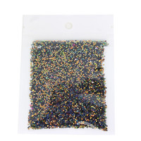 10g piece Colorful Nail Glitter Paillette Acrylic Powder Dust Gem Fashion UV Nail Gel Beauty Nail Sticker Decals WY9