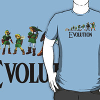 Zelda Evolution T-Shirts & Hoodies