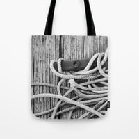 Wood Lines Tote Bag by Emilytphoto
