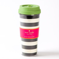 kate spade new york 16 oz Thermal Mug - Black Stripe