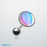 Convex Opalite Chroma Flare Cartilage Earring