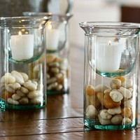 Recycled Glass Display Votive Holder