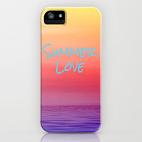 Summer Love iPhone Case by Ally Coxon | Society6