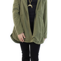 harpa army green jacket