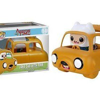 Funko Pop Rides: Adventure Time - Jake Car with Finn Vinyl Figure