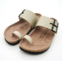 New 2015 shoes woman sandals Cork slippers fashion Cow Muscle Casual Slippers summer style flip flop Big Size 5-11 free shipping