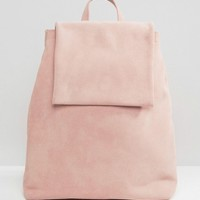 Boopacks Boo Backpack in Pink Suede