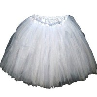 Adult Tutu Assorted Colors (White)