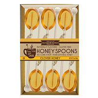 6 Pack of Clover Honey Flavored Tea Spoons