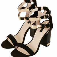 RODEO DOUBLE STRAP SANDALS