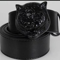 High quality real leather men belts luxury luxury belts fashion business casual belts