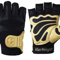 Harbinger 1215 Big Grip II Non-WristWrap Weight Lifting Gloves (Large)