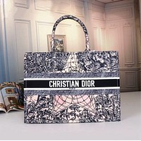 DIOR Women Fashion Leather Handbag Tote Satchel