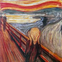 The Scream. Edward Munch. Art Print Poster (16X20)