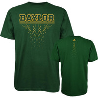 adidas Baylor Bears Diamond Cut T-Shirt - Green