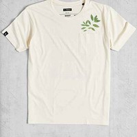 T-Post 105 Food Conspiracy Pocket Tee- Ivory