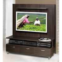 Nexera Eclipse Entertainment Center with Support Panel in Espresso | Wayfair